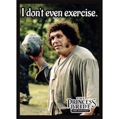 Princess Bride. Exercise (50 Sleeves)