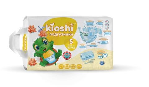 Подгузники Kioshi,  3-6 кг (S)