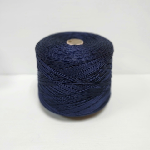 FB Silk, Seta, Шёлк 100%, Очень темный синий, 2/60x12, 250 м в 100 г