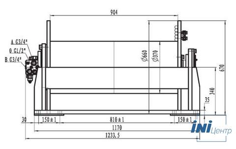 Стандартная лебедка IYJ333-100-168-22-ZPG