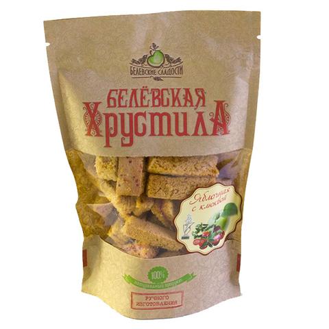 Белевская хрустила яблочная (с клюквой) 70 г
