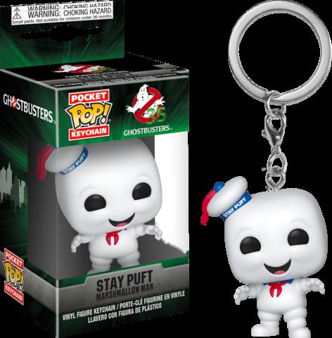 Брелок Зефирный человек (светится в темноте) || POP! Keychain Ghostbusters Stay Puft