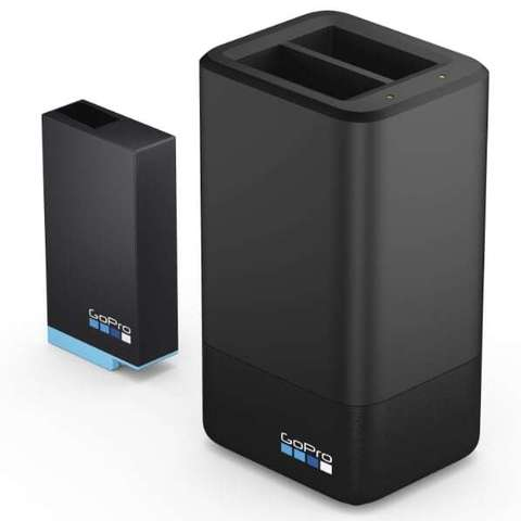 Зарядное устройство для двух аккумуляторов GoPro MAX Dual Battery Charger + Battery