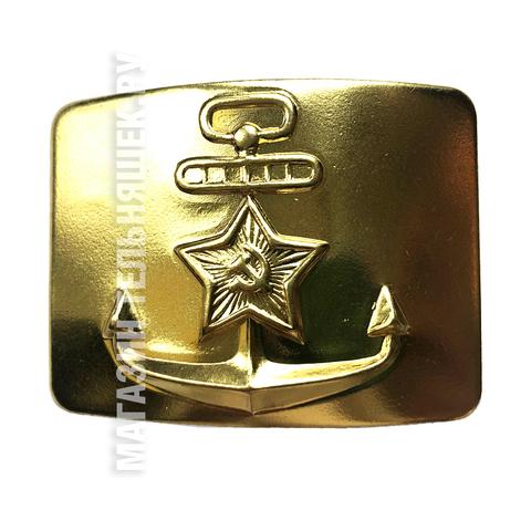 Купить пряжку ВМФ - Магазин тельняшек.ру 8-800-700-93-18Пряжка ВМФ СССР Латунь в Магазине тельняшек