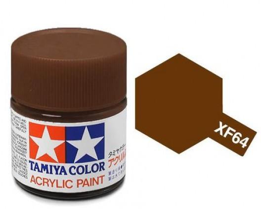 Tamiya Акрил XF-64 Краска Tamiya, Красно-коричневый Матовый (Red Brown), акрил 10мл import_files_02_02759cde5aac11e4bc9550465d8a474f_95b315615b6211e4b26b002643f9dbb0.jpg