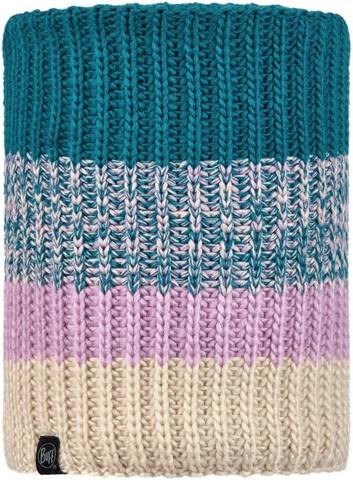 Вязаный шарф-труба с флисом детский Buff Neckwarmer Knitted Polar Sibylla Aqua фото 1