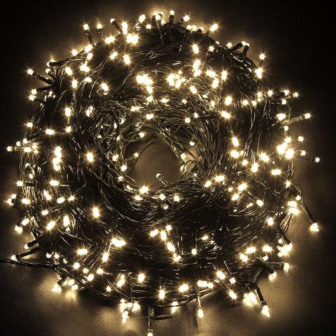 LED светодиодная гирлянда нить новогодняя 35 метров 480 led