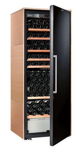 Винный шкаф EuroCave D Collection L светлое дерево, сплошная дверь, стандартная комплектация