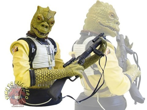 gentle giant star wars bossk bust