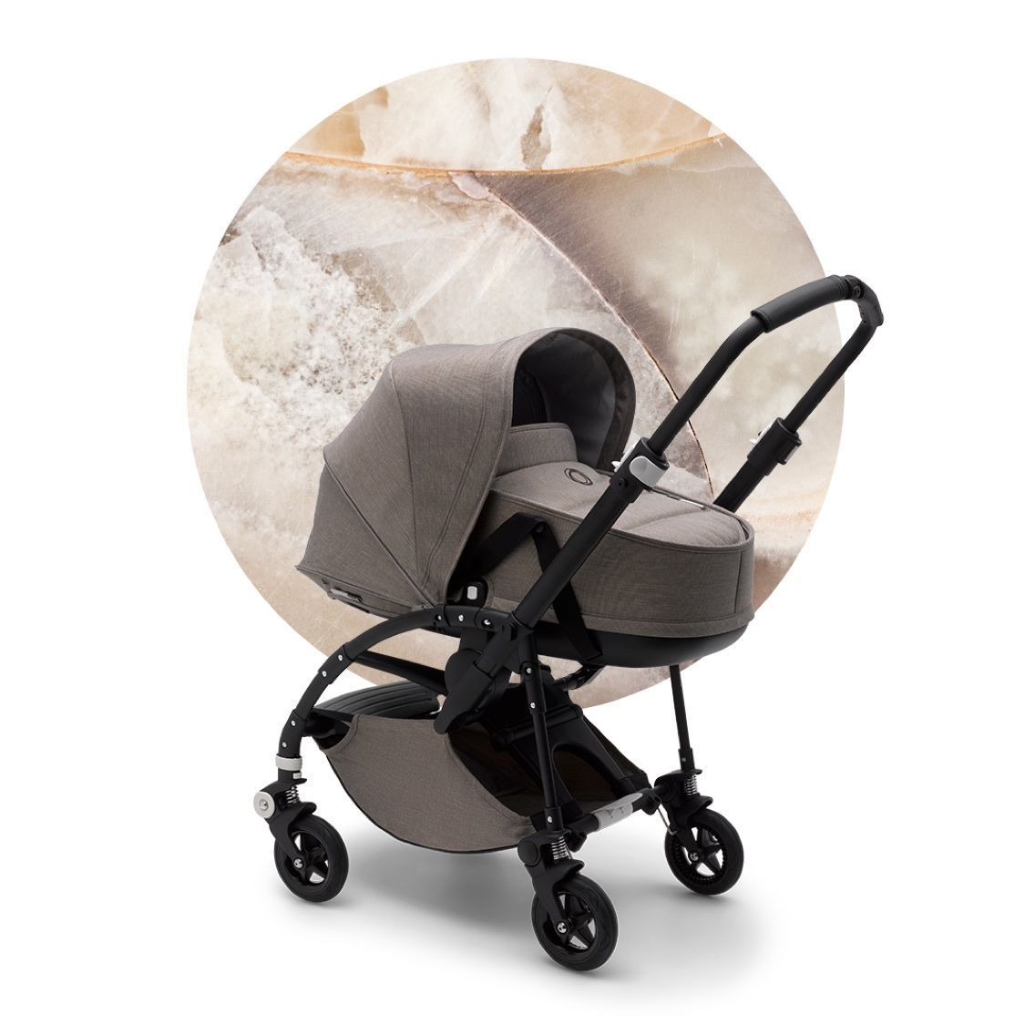 Люлька-переноска Bugaboo Bee5 bassinet complete Mineral TAUPE
