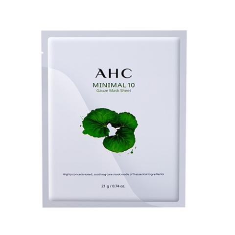 AHC Minimal 10 Gauza mask sheet