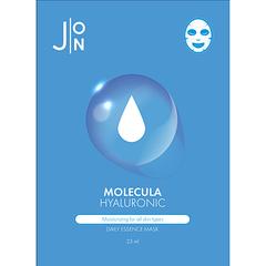 J:on Маска для лица тканевая с гиалуроновой кислотой - Molecula hyaluronic daily essence mask, 23мл