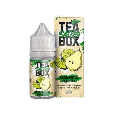 Жидкость Tea Box Salt 30 мл Bergamot & Pear Tea