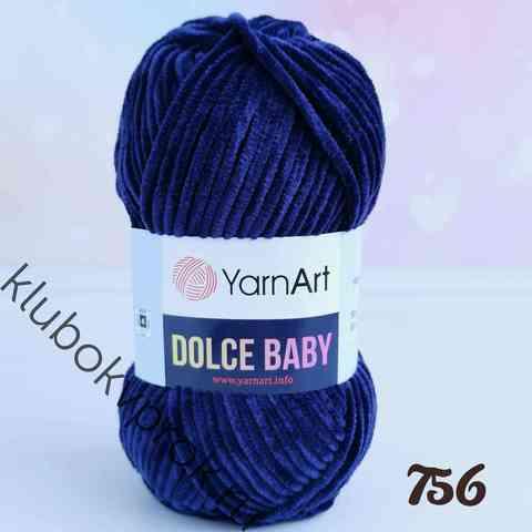YARNART DOLCE BABY 756, Темный синий