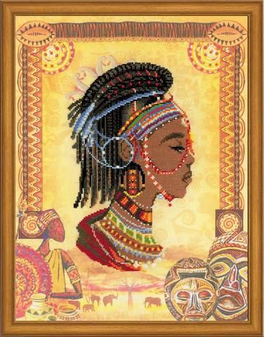 Набор для вышивания крестом «Африканская принцесса» (0047 РТ)