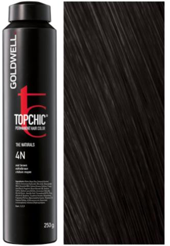 Goldwell Topchic 4N средне-коричневый TC 250ml