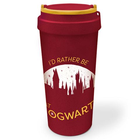 Кружка-термос Harry Potter (Rather be at Hogwarts) Eco Mug 450ml EMG25361