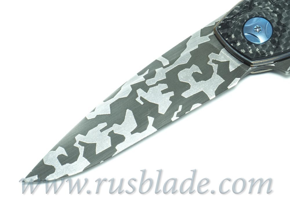 CKF CUSTOM Gratch Camo Knife - фотография