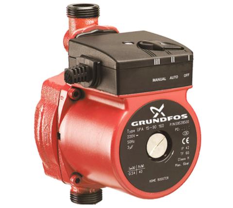 Повысительный насос для водоснабжения - Grundfos UPA 15-90