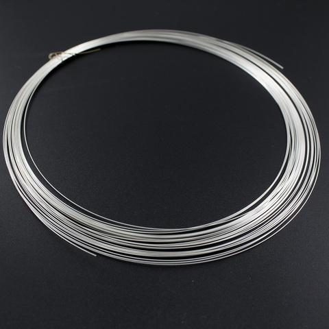 Проволока толщина 0,3 мм серебро 925 - 50 см