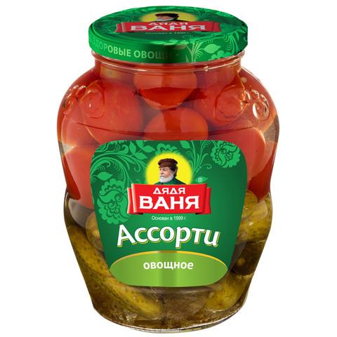 Огурцы и томаты Дядя Ваня МИНИМАРКЕТ 0,68кг