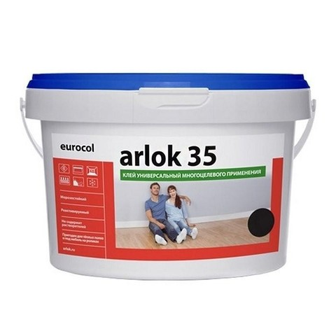 Клей универсальный для плитки ПВХ Arlock 35 3,5 кг