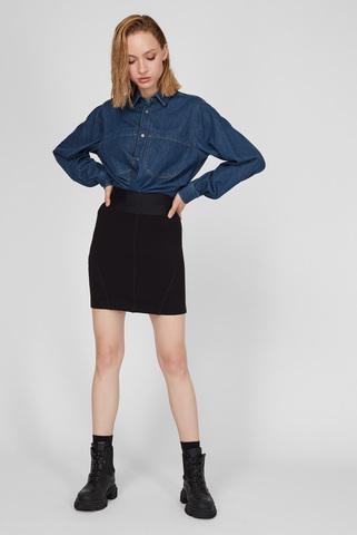 Женская черная юбка  O-SUBBY Diesel