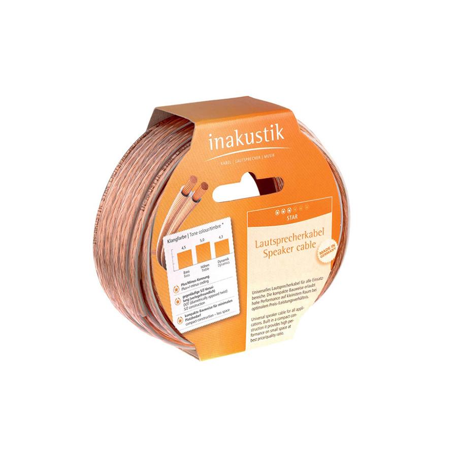 Inakustik Star LS cable, 2 x 0.75 mm2, 1m