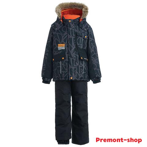 Зимний комплект Premont Трасса Мон-Трамблан WP92266 BLACK