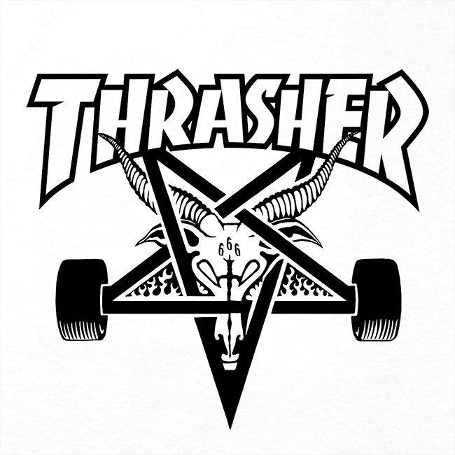Футболка THRASHER Skate Goat White