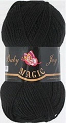 Пряжа Baby Joy (Magic) 5702 Черный фото