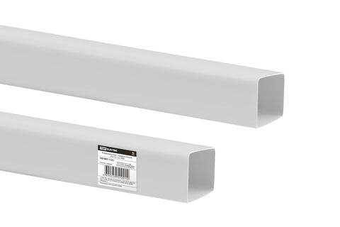 Воздуховод пласт. прямоугольный, 55х110, 1 м, TDM