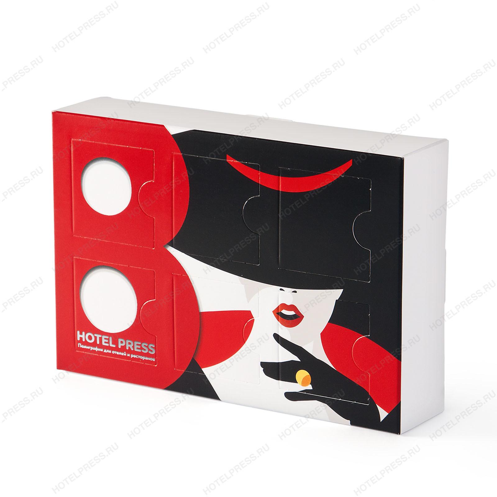 Подарочный мини адвент к 8 марта. В фирменной коробке 6 конфет Линд Линдор.