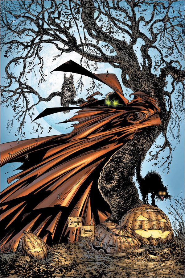 Spawn — Halloween The Classic Comic Covers
