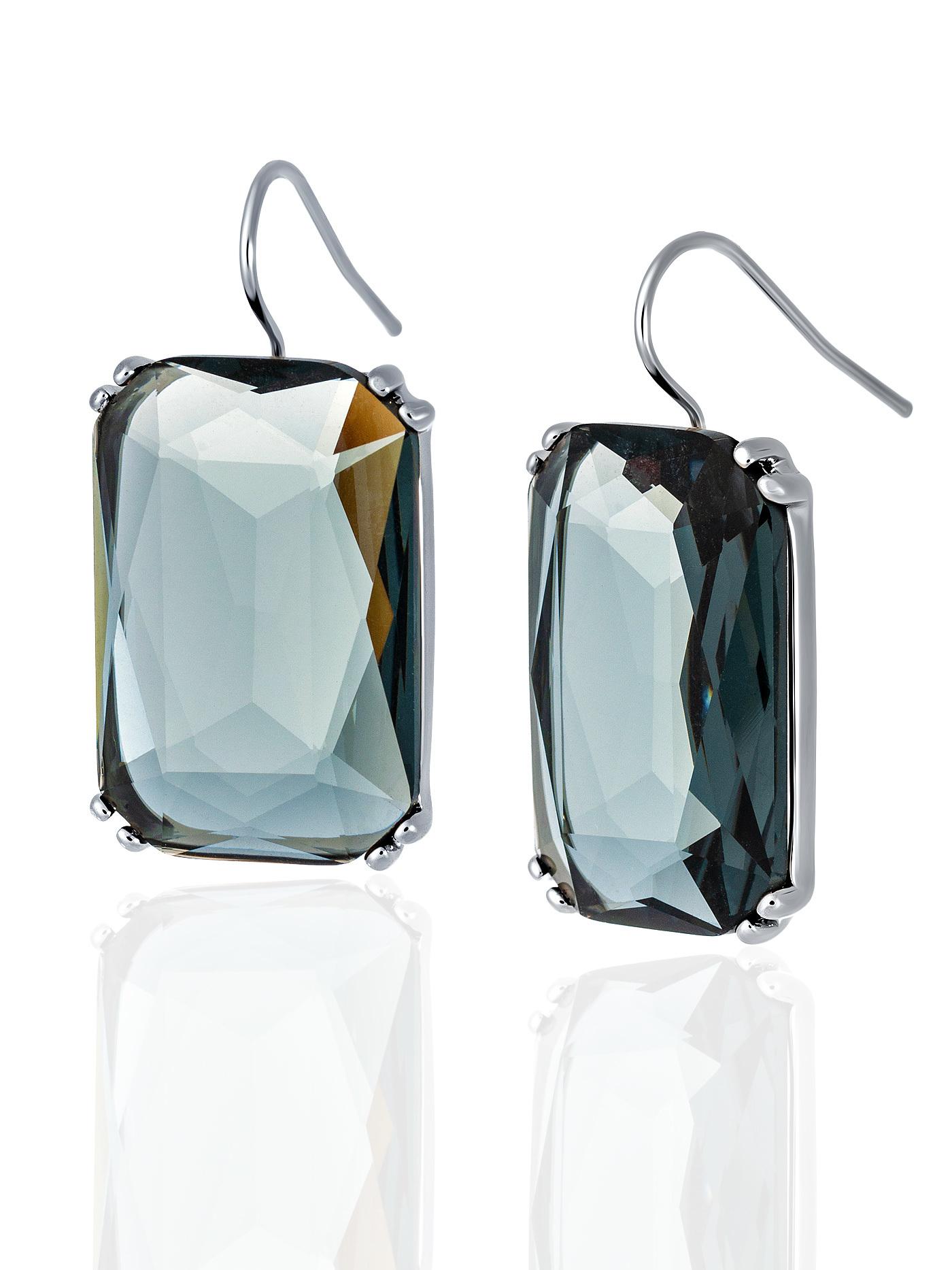 Серьги c кристаллами