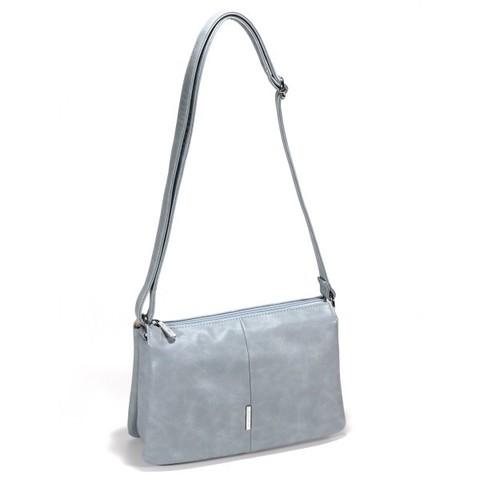 Голубая сумка прямоугольной формы