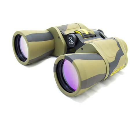 Бинокль Navigator 10x50 Profi с сеткой, камуфляжный