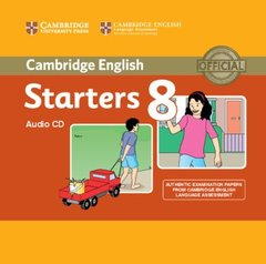 Starters 8 Audio CD (Old Format)  !!