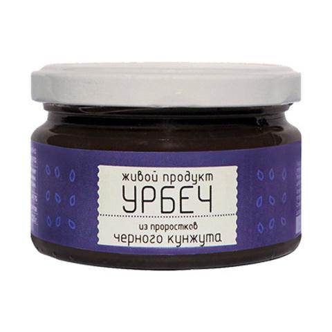 Урбеч из проростков черного кунжута, 225 гр. (Живой продукт)
