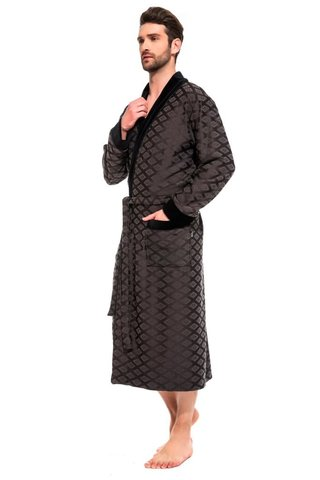 Облегченный бамбуковый халат для мужчин 420 PÊCHE MONNAIE
