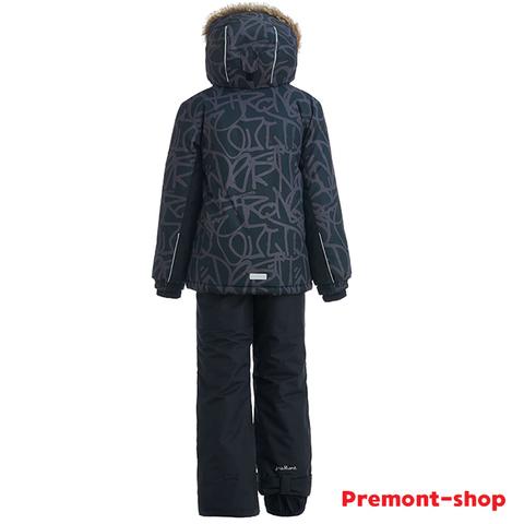Костюм Premont Трасса Мон-Трамблан WP92266 BLACK