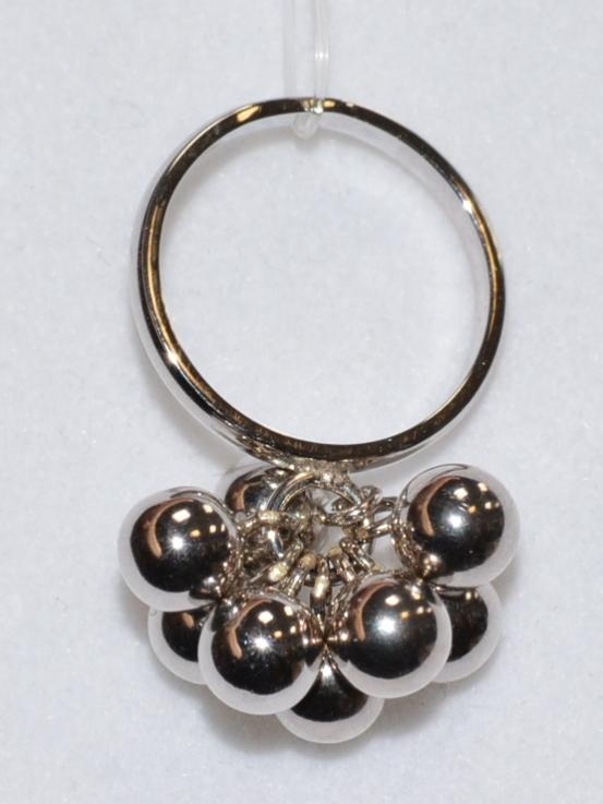 Шарики 8 (кольцо из серебра)