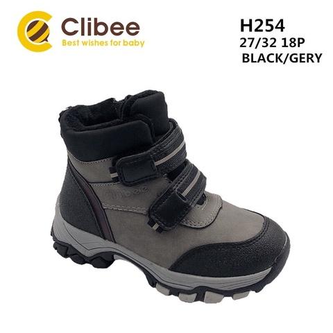 Clibee (зима) H254 Black/Grey 27-32