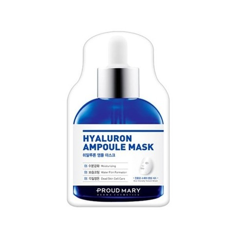 Proud Mary Hyaluron Ampoule Mask Тканевая маска глубоко увлажняющая с гиалуроновой кислотой