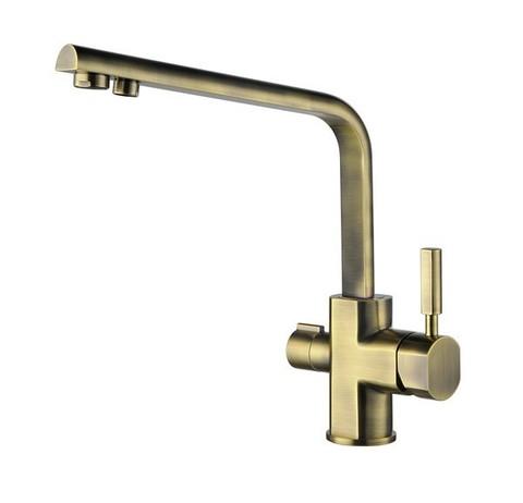 Смеситель KAISER Decor 40144-3 бронза для кухни под фильтр