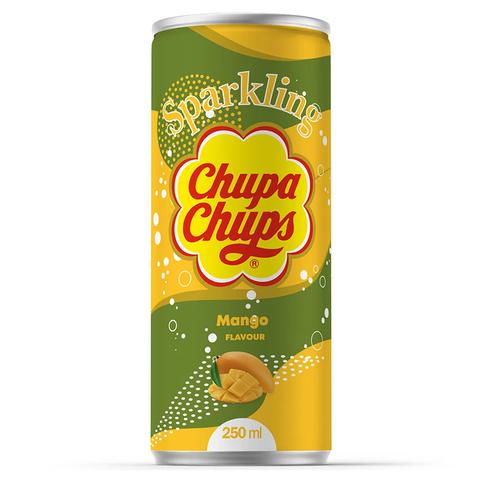 Газированный напиток Chupa Chups Mango со вкусом манго, 250 мл