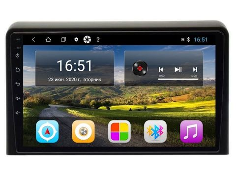 Магнитола для Hyundai Sonata (17-19) Android 11 2/16GB IPS  модель CB-3187T3L