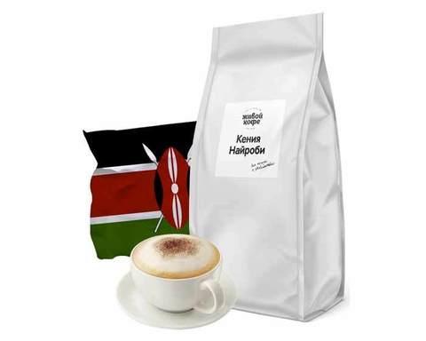 Кофе в зернах Живой Кофе Kenya Nairobi, 1 кг