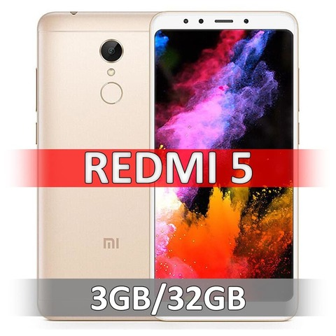 Xiaomi Redmi 5 (3-32Gb) Gold