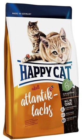 купить Happy Cat Adult Atlantik-lachs сухой корм для взрослых кошек с атлантическим лососем